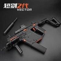 Wholesale Upgradedy LeHui KRISS VECTOR V2 Gel Blaster Nylon 11.V Battery Electronic Water Gel Ball Gun WIth Three Mode