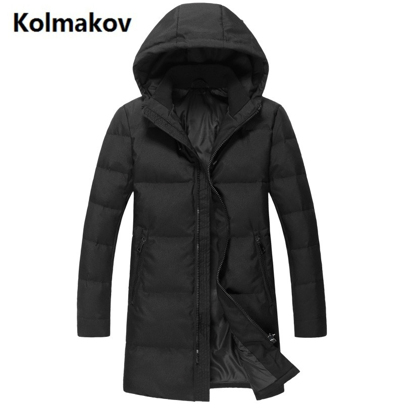 2017 Men's winter jackets casual white duck down down coats Men cotton-padded jacket trench coat man hooded down jacket цена