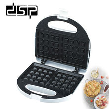 DSP Cooking Appliances Waffle Makers Donut Machine 4-Piece Breakfast Sandwich Machine 750W 220-240V