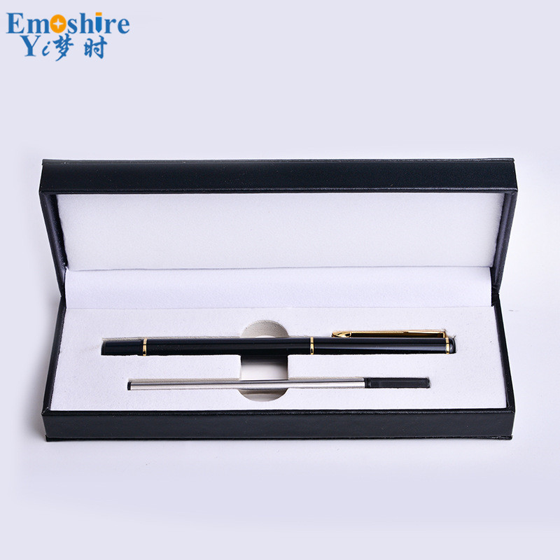 MB Ballpoint Pen with Pencil Box Ballpoint Pen Refill High Quality Ballpoint Pen Stationery Gifts for Office Writing Supples 642 maple ball pen with pencil case set pencil box natural custom logo high quality teacher students gifts ballpoint pens p112
