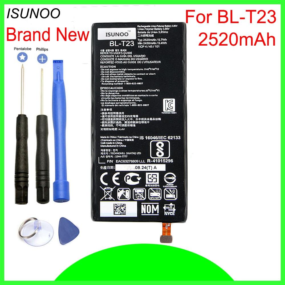 ISUNOO BL-T23 Batterie Pour LG X Cam X-Cam K580 K580Y F690 K580DS Batterie de Remplacement Avec Des Outils De Réparation