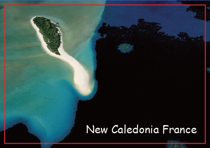 Travel Refrigerator Magnets,The islets of Nokanhui, south of le des Pins, New Caledonia, France Tourist Rigid Magnets 20674