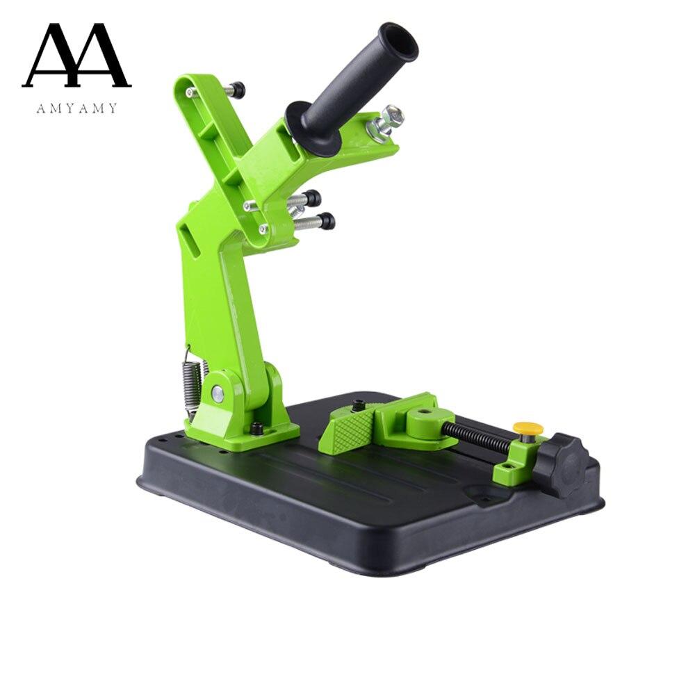 Amyamy прибор для заточки под углом браке угловая шлифовальная машина стенд держатель дерева, камня, металла резки рамка для 180 230 мм прибор для ...