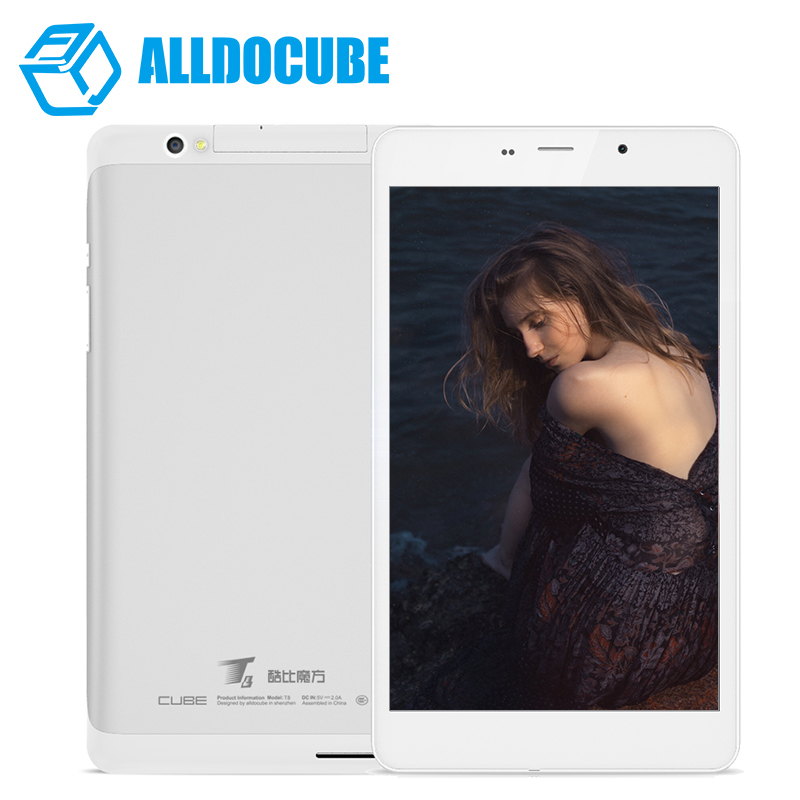 Prix pour Alldocube/cube t8 ultime double 4g téléphone tablet pc mtk8783 octa core 8 Pouce Full HD 1920*1200 Android 5.1 2 GB Ram 16 GB Rom GPS