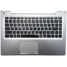 Laptop Keyboard Touchpad Palmrest U330 Lenovo NEW RU for Russian with Silver-Case