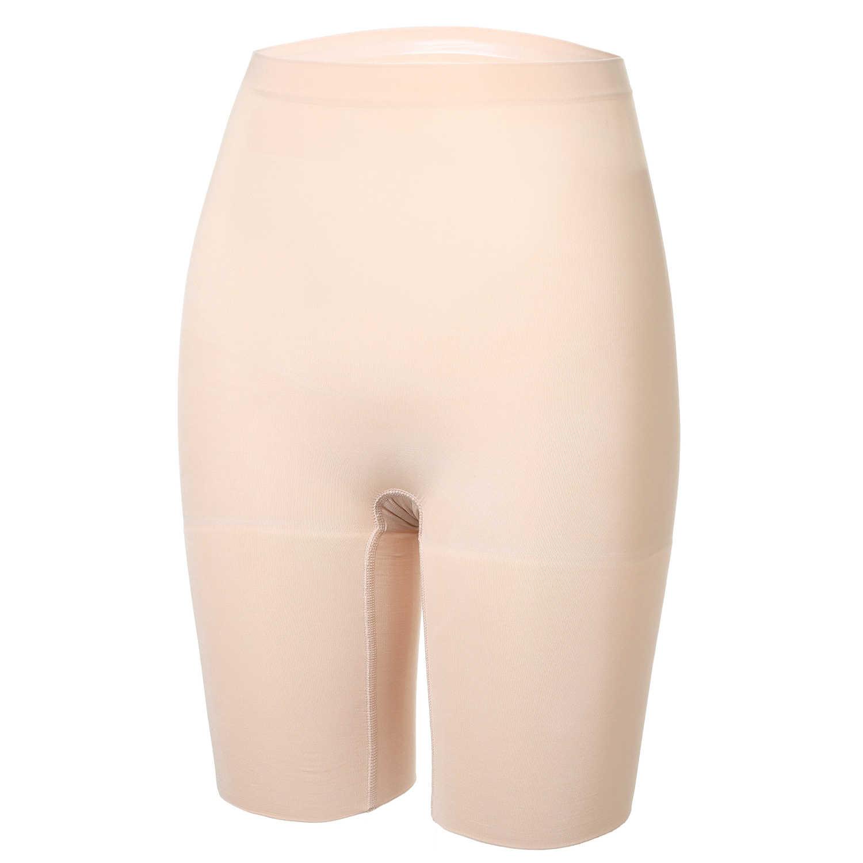 a3b9d3328576 ... DELIMIRA Women's Seamless Plus Size High Waist Control Panties Shapewear  Thigh Slimmer Body Shaper ...