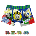5Pcs/lot Baby Boys Underwear Boxer 2016 New Arrival Thomas Character Cotton Panties Infantil Calzoncillos For 3-11 Years KU03