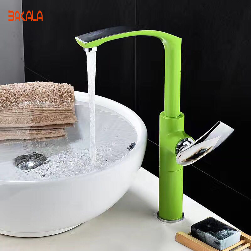 BAKALA New Arrivals Colorful Bathroom Faucet Bathroom Basin Mixer Tap With Hot and Cold Sink Faucet  BR-152220 pastoralism and agriculture pennar basin india