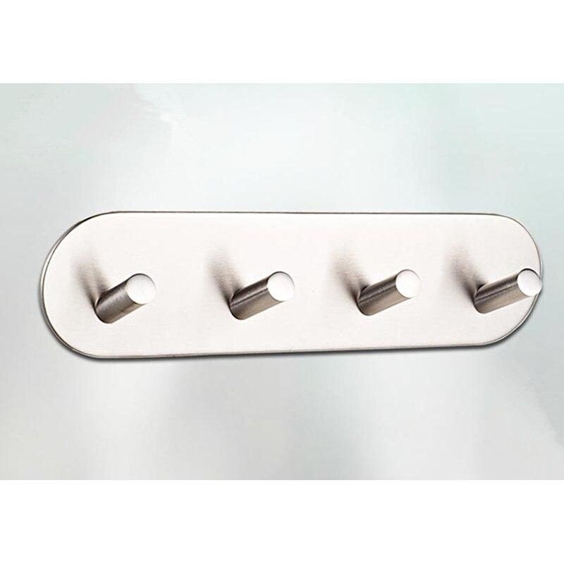 robe ganci da parete in stile moderno da parete in acciaio inox traceless nastro adesivo quattro