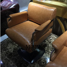 Hairdressing chair. Beauty salon lang special barber chair. Hydraulic haircut chair(China)