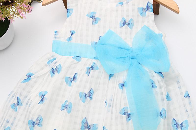 2016 Super Deal Summer Cotton Baby Dress Princess Dress Puff Sleeveless Cute Fashionable Baby Infant Dress 0-2 Years 10