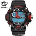 SMAEL Nueva Llegada s-choque reloj militar para hombre del reloj del deporte LED Digit cuarzo Cronógrafo jalea de natación de silicona reloj de la Marca