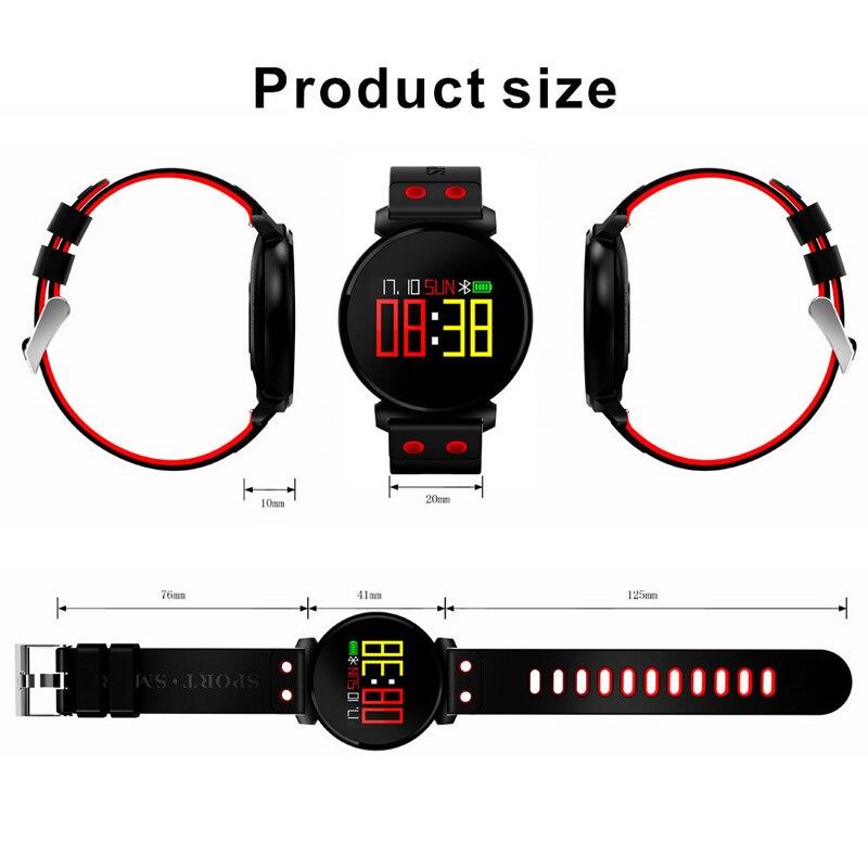 CARPRIE Electronics Smart Watches wrist Blood pressure detection Smart Bracelet Sleep Heart Rate Sleep detection NOV30 high quantity medicine detection type blood and marrow test slides