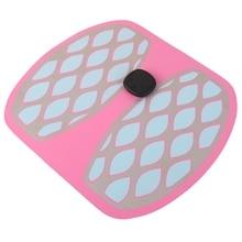 Ems Pink Foot Massage Mat Acupoints Pulse Detoxification Relieve Fatigue Intelligent Muscle Stimulator Massager