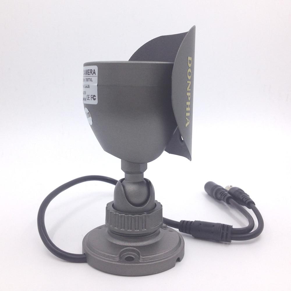 CCTV kamera DONPHIA është një plumb i papërshkueshëm nga uji - Siguria dhe mbrojtja - Foto 4