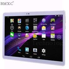 2017 Envío gratis BMXC Nueva 10.1 pulgadas tablet android tablet Marca 4G tablet pc 10 wifi llamada de teléfono de la tableta de 10 gps bluetooth regalos