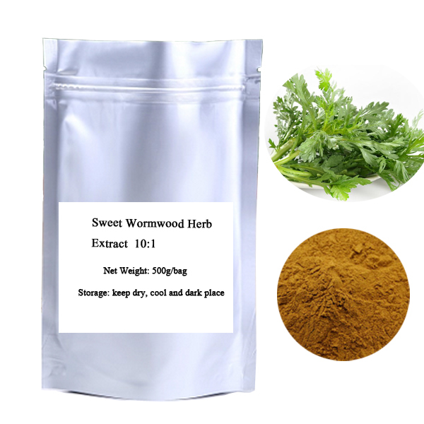 Бесплатная доставка Сладкие Травы Полыни Artemisia annua порошок Extact 500 г/пакет