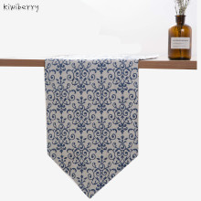 Kiwiberry 100% Linen Chemin Toalha Camino De Mesa Satin Table Runner Modern Flag Mat Cloth Strip Cover Concise Banqueta