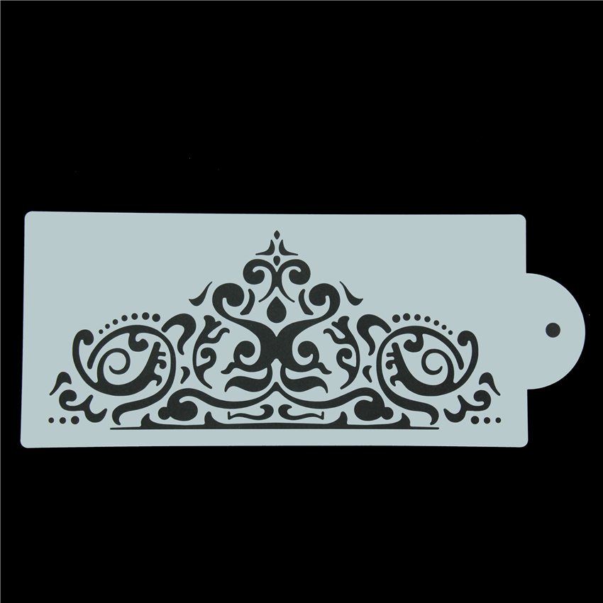 Crown King Princess Queen Cake Stencil Frostings Spray ...