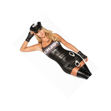 Police Party Costume Sexy Female Police Uniform Police Style Sex Cosplay Police Costumes For Women After Bandage Cop Uniform
