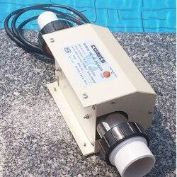 Eleoption 220 V 2KW Zwembad en SPA Heater Elektrische Verwarming Thermostaat