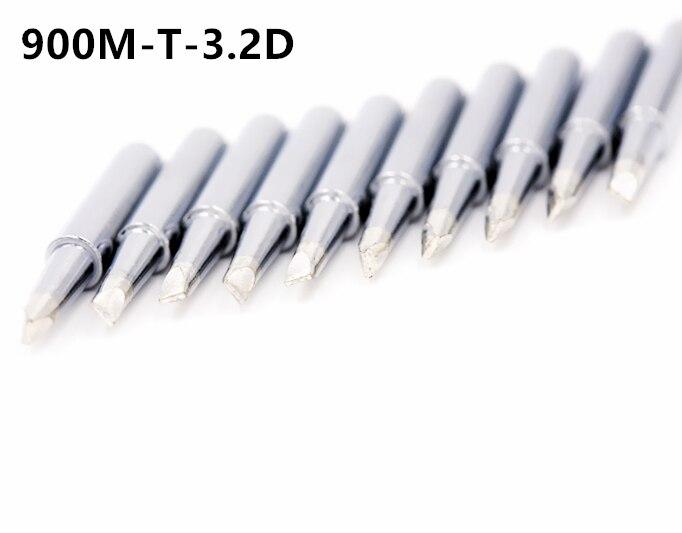 Solder Sting 900M-T-1C 2C 3C 4C 5C 0.8D 1.2D 1.6D 2.4D 3.2D B I K  IS SK Soldering Iron Bits For Hakko 900m Iron Tip Solder