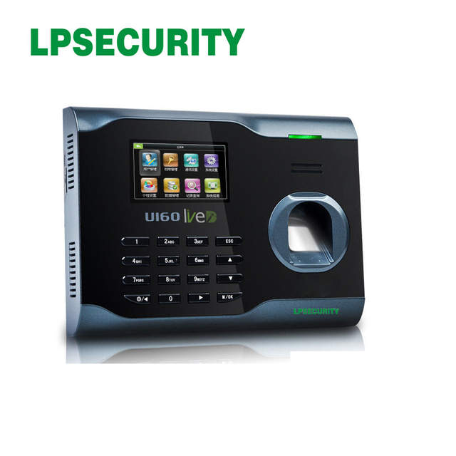 US $88 83 5% OFF|ZKsoftware U160 Fingerprint Attendance Time Clock With  WiFi Function +TCP/IP+USB ( Free SDK)-in Access Control Cards from Security  &