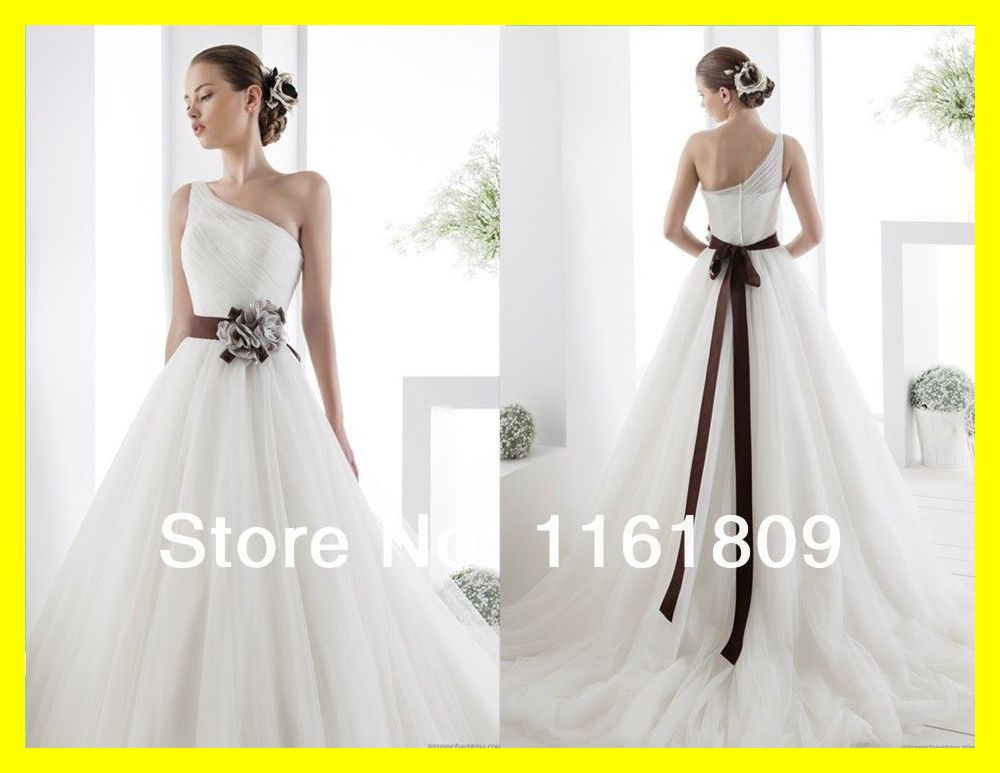 Short white wedding dress chiffon one shoulder modest for One shoulder short wedding dress