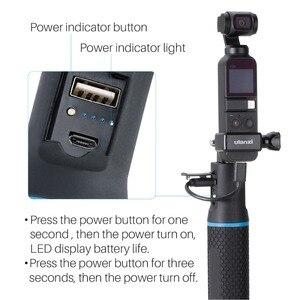 Image 5 - Adaptateur dextension de support de poche ulanzi OP 3 Osmo + trépied de tige dextension de poignée de puissance pour poche DJI OSMO, accessoires Vlog