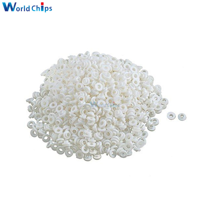 100 pièces tablettes isolantes bague d'isolation Transistor tampons cercle TO-220