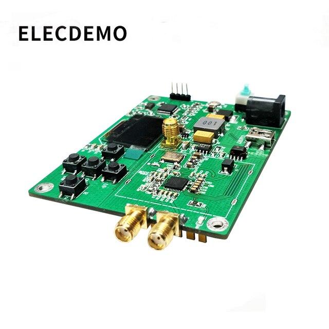 HMC830 módulo PLL de bucle de fase bloqueada 25 M 3G con OLED a bordo microcontrolador RF fuente de señal puerto serial