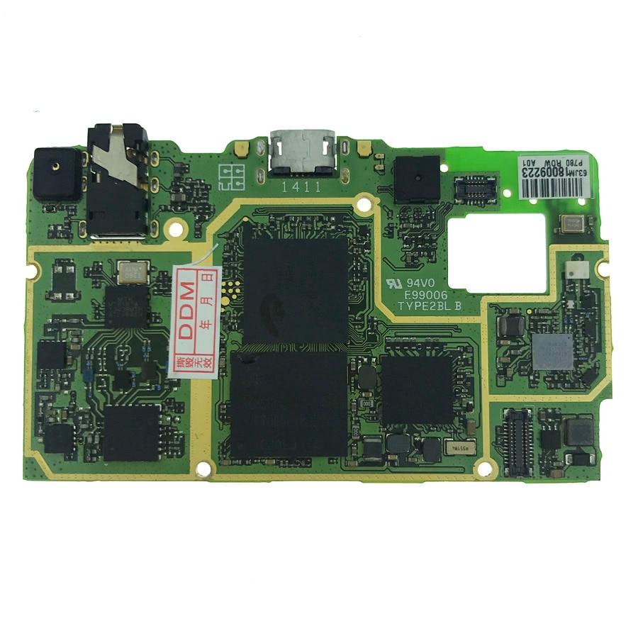 En Stock 100% Testé Travail 8 GB ROM Conseil Pour Lenovo P780 Carte Mère Smartphone Réparation Remplacement Avec multilingue