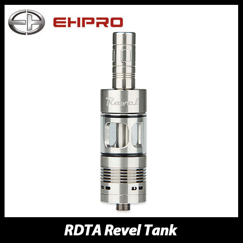 Original Ehpro Revel RDTA Tank 2.5ml Atomizer 22mm Diameter with Press-button for Fill E Cigarette Vape Tank Vs Limitless RDTA original ijoy limitless rdta classic edition tank 6 9ml huge capacity atomizer with side fill