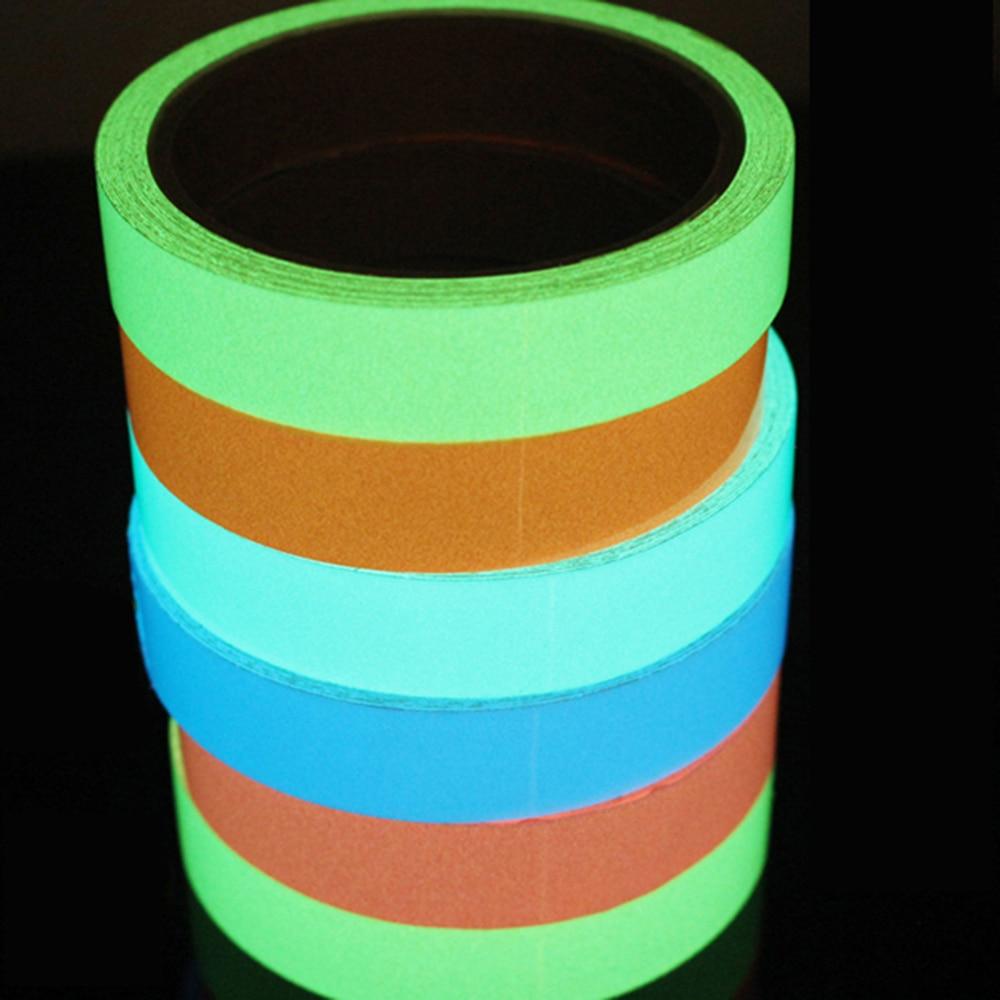 Luminous Glow In The Dar Tape Sticker Self Adhesive Green-300cm//Roll