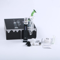 Greenlightvapes G9 TCPORT DAB RIG Built in 3000mAh Battery with 0.9inch OLED Screen Use for Wax Temp Range:300 800F