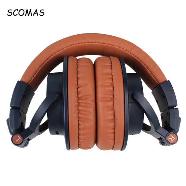 Scomas Bluetooth 4 0 Wireless Headphones Over Ear Foldable Soft Ear Cover Bluetooth Gaming