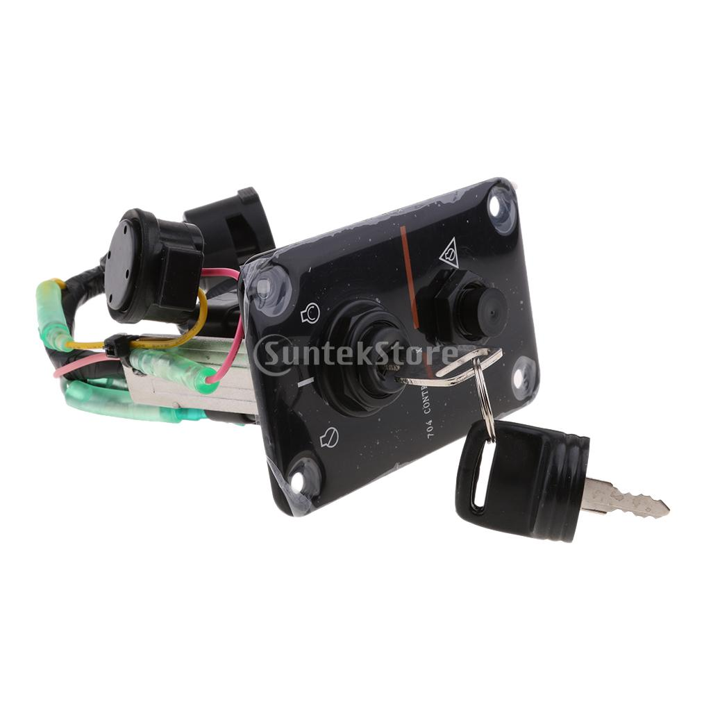 Outboard Single Engine Key Switch Panel For Yamaha 704 82570 12 00 Pontoon And Wiring Harness In Rowing Boats From Sports Entertainment On Alibaba Group