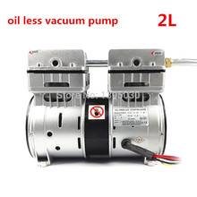 Oilless Vacuum Pump match with oca laminating machine for broken phone screen repair, LCD separator 110V/220V 2L