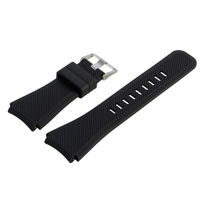 2018 bonne qualité bracelet de montre Silicone Coloré bande pour montre-bracelet