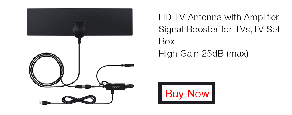 August DTA425 HD TV Antenna with Amplifier