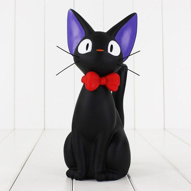 24cm Anime Kiki S Delivery Service Piggy Bank Kiki Black Cat Figure