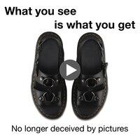 OLPAY dr martens sandal Martin Xabier mens shoes women shoes man sandals beach sandals sandals men 2019 New