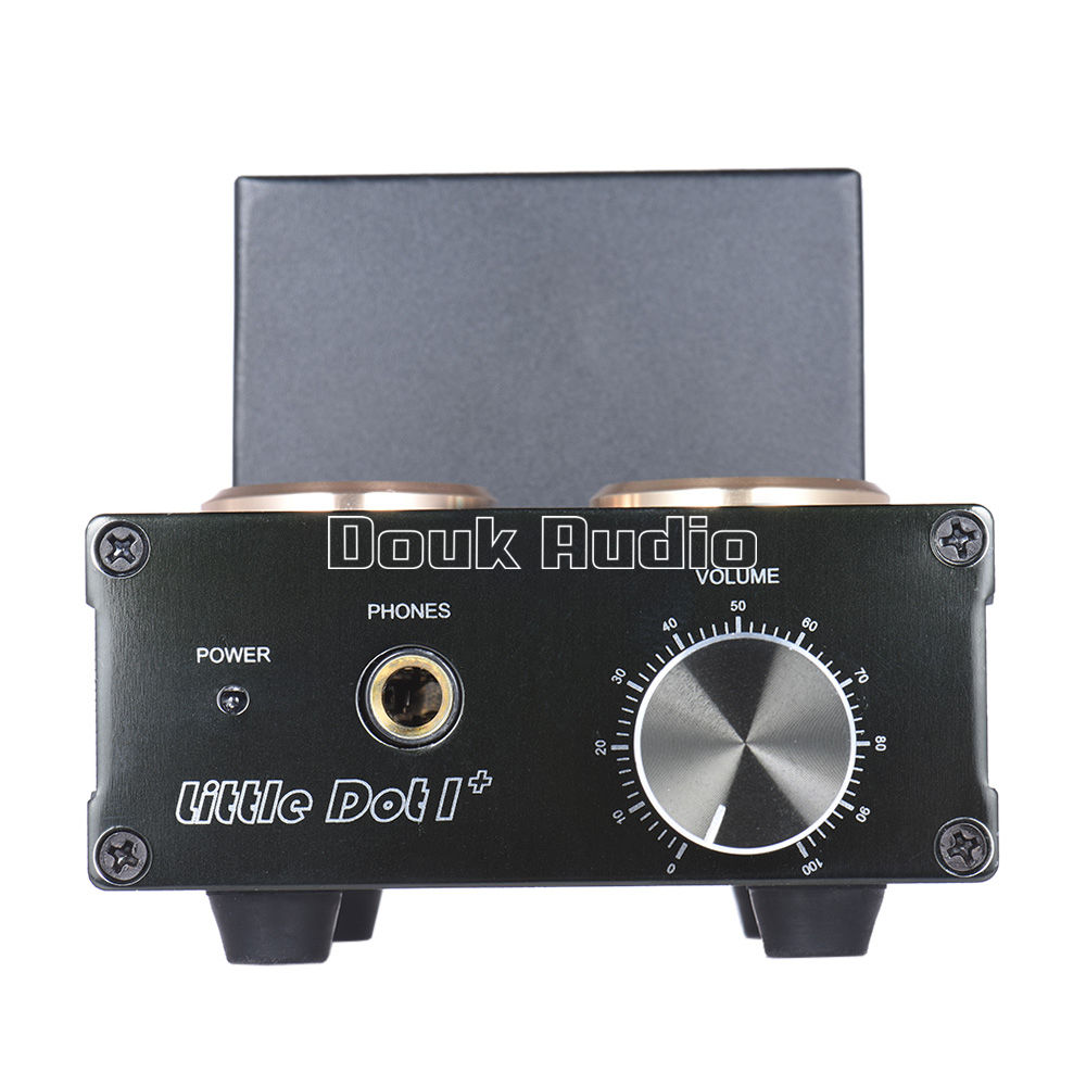 Douk audio Mini 6J1 Vacuum Tube Headphone Amp HiFi Stereo Solid State  Preamplifier
