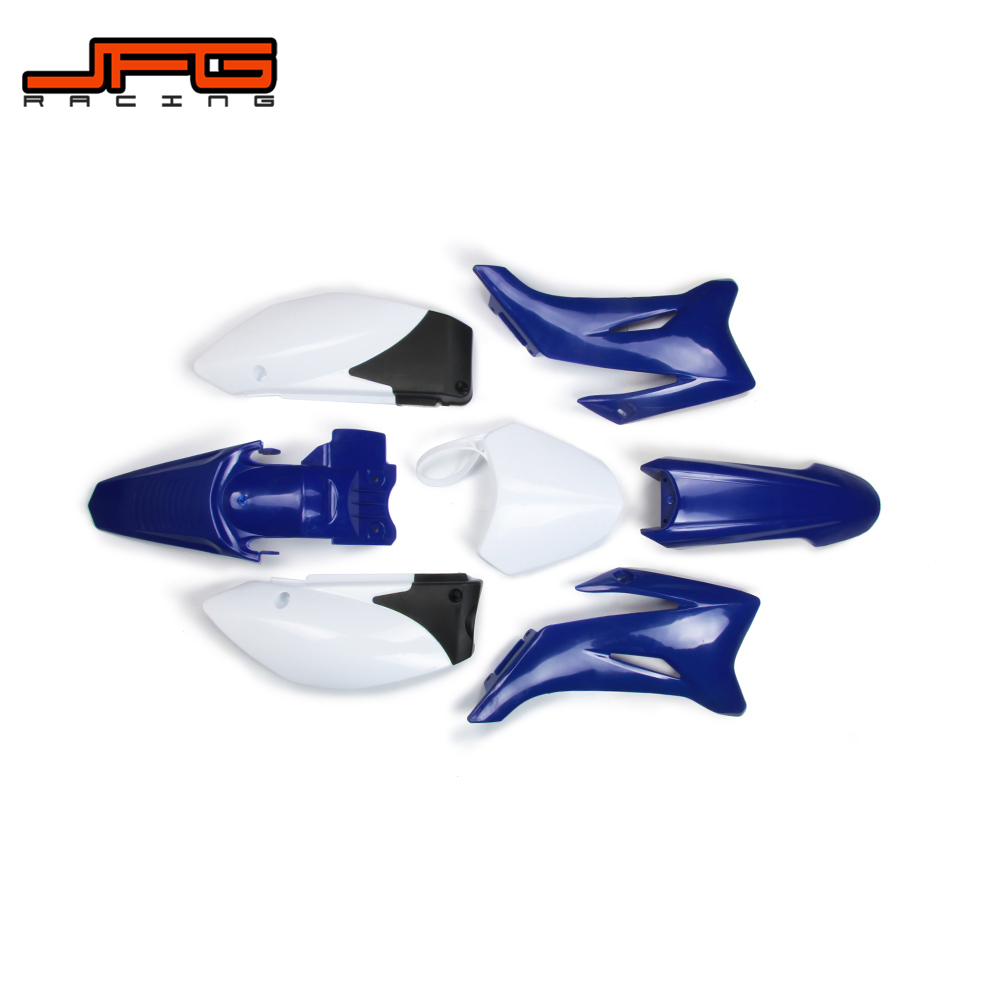 Blue Plastic Kit Fender Farings For YAMAHA TTR110 TTR 110 Pit Dirt Bike Off Road Motorcycle