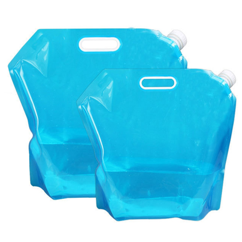 PE Foldable Water Storage Container Outdoor Picnic Camping Hiking Water Bag