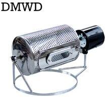 DMWD 110 В/220 В аппарат для обжарки кофейных зерен из Нержавеющей Стали Кафе фасоли обжарки машина для выпечки жарить арахисовые зерна орехи Сушилка ЕС США Великобритания Plug