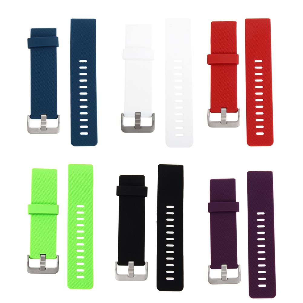 22mm Silicone Watch Band fitbit blaze band with Connector Adapter Watch Sports Buckle Band Bracelet For Fitbit Blaze Smart Watch цена и фото