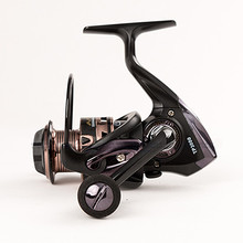 KKWEZVA High Quality Metal Reel Printing 14 + 1BB Spinning Fishing Reels Gear Ratio 5.5: 1 DM2000-7000 carretilhas de pesca
