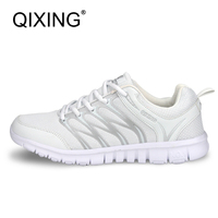 QIXING Women Sneakers Running Shoes Light Sport Jogging Sneakers For Women Breathable Quality Brand Cheap Sport