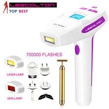 Women Epilator 400000 Flash Light Permanent Face Skin Bikini Depiladora Trimmer Electric Depilador a Laser